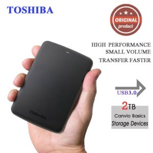 """2TB HDD Canvio Basics USB 3.0 2.5"""" Inch 8MB Portable External Hard Disk Drive Mobile HDD For Laptop"""